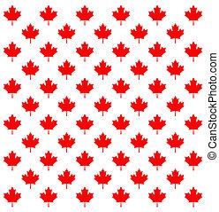 Maple Leaf pattern - Canada country flag symbol Maple Leaf...