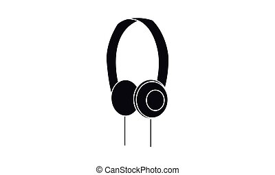 Vector - Headphones - Vektor - Kopfhoerer - Icon, Symbol,...