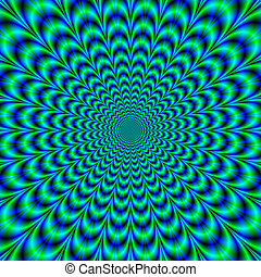 Optically Challenging Brain Buster - A digital fractal image...