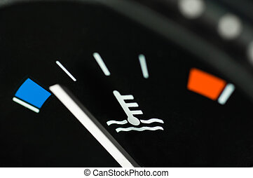 Temperature gauge - Motor temperature gauge of a car