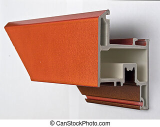 Fiber glass pultruded profile for windows and doors manufacturing