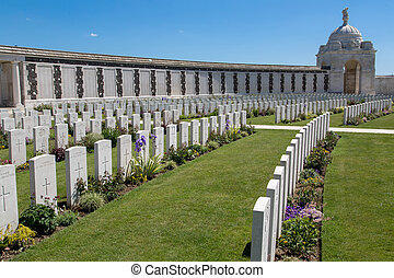 Tyne Cot Cemetery - Tyne Cot World War One Cemetery, the...