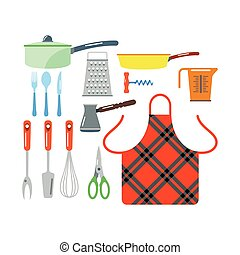 Kitchenware vector icons. - Kitchen and cooking icons set....