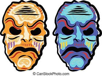 Voodoo Mask Sketch