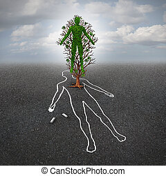 Life After Death - Life after death concept and afterlife...