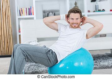 the gym ball