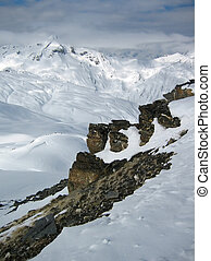 montanhas, Inverno