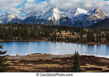 Colorado mountains - Mountain Landscape in Colorado Rocky...