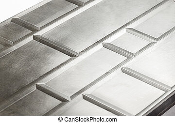 Polished steel texture isolated obiect