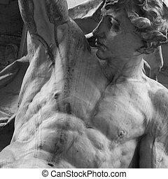 god Apollo in Greek mythology (Phoebus - in Roman mythology)...