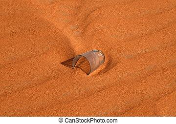 "Red sand desert - Red sand ""Arabian desert"" near Riyadh,..."