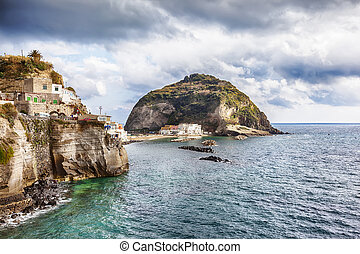 view at Sant Angelo , Ischia island , Italy - view at Sant...