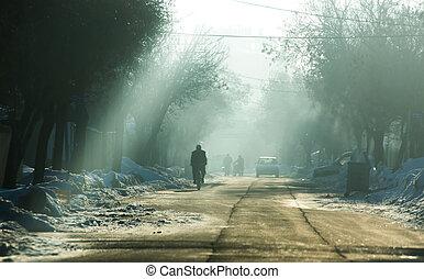 história, Inverno