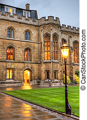 University of Cambridge in Cambridge, England, UK