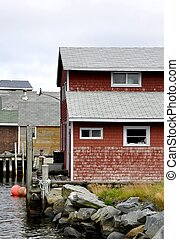 Fishermans Cove, Easten Passage buildings - historic...