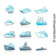 Marine traffic || MARINE series - Modern passengers, cargo...