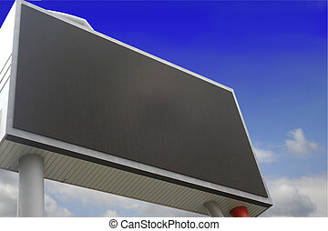 blank billboard just add your text