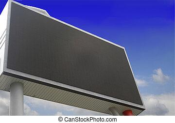 blank billboard just add your text