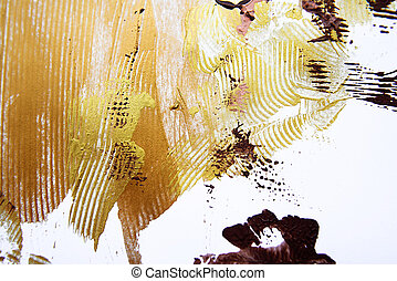 background of warm colorful abstract painting
