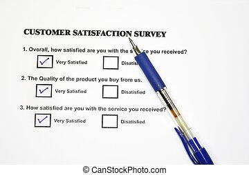 Marketing Survey Questionnaire - Satisfaction Survey...