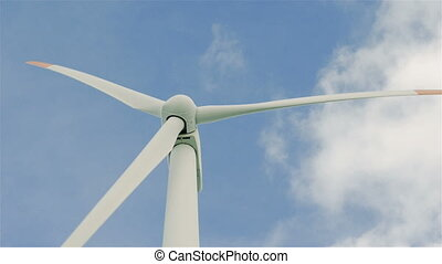 wind turbine generating