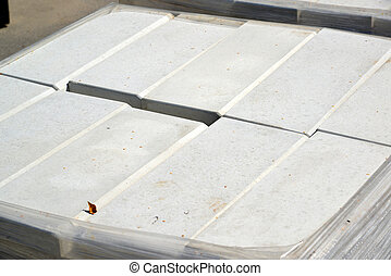 curbstone in package made of polyethylene - curbstone in a...