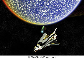 Space Shuttle Exploration Disaster