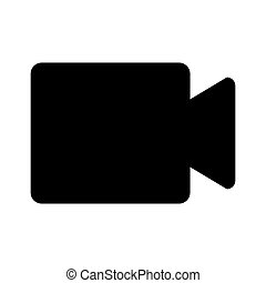 video cam isolated icon vector illustration design