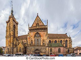 St. Martin Church, Colmar, France - The Eglise Saint-Martin...