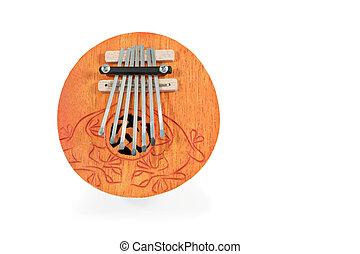 instrumento,  kalimba,  musical, africano
