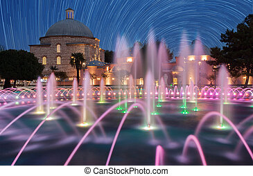 Haseki Hurrem Sultan Hamami and fountain, Istanbul, Turkey....