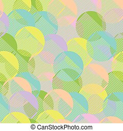Seamless pattern geometric pastel colorful simple comb or...