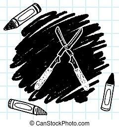 scissor doodle