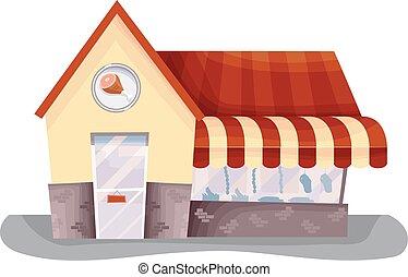 Meat Shop Storefront