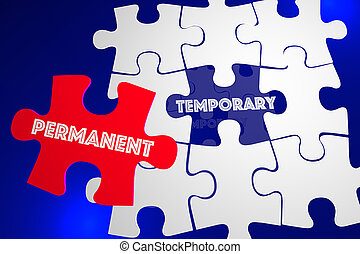 Permanent Vs Temporary Solution Problem Solved Puzzle 3d...