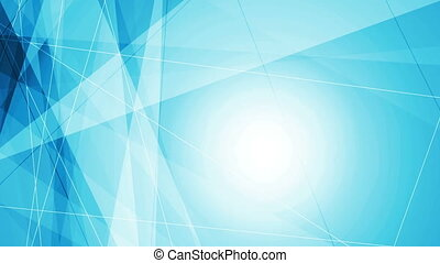 Bright blue tech abstract video animation - Bright blue tech...