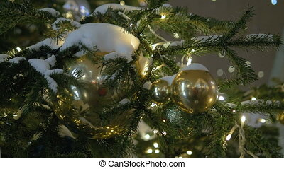 Colorful collection of Christmas Balls useful as a...