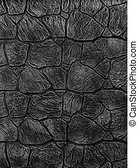 Stone fence texture - building feature. Texture of concrete...