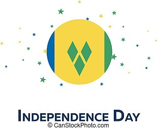 Independence day of Saint Vincent and the Grenadines....