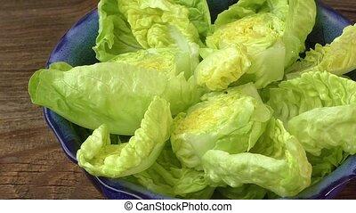 Fresh bowl of mixed greens