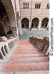 Scala della Ragione in the Courtyard of the Palazzo della...