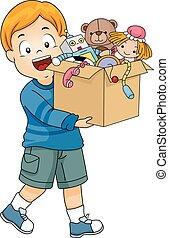 Kid Boy Lift Box Toys