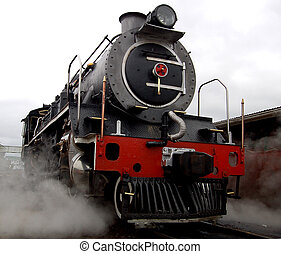 Steam Locomotive - A steam locomotive still in daily use in...