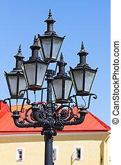 Old lantern of Estonia in Tallinn