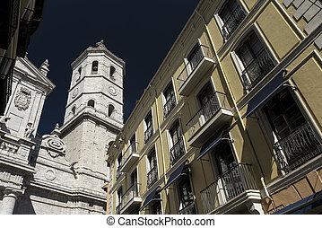 Valladolid (Castilla y Leon, Spain): buildings