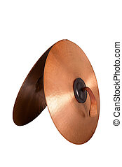 Close up of an prcussion cymbals
