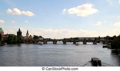 Prague Charles Bridge 16 - PRAGUE - The Charles Bridge is a...