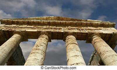 Classic Greek (Doric) Temple at Segesta in Sicily