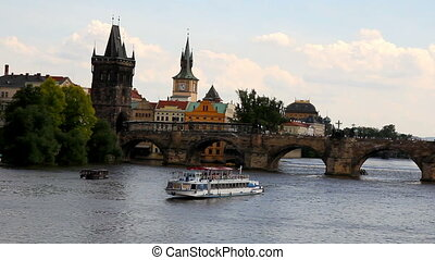Prague Charles Bridge 17 - PRAGUE - The Charles Bridge is a...