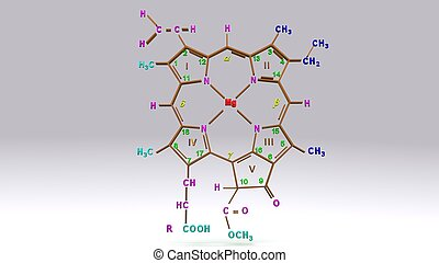 Chlorophyll_c structure_front - Chlorophyll c is unusual...